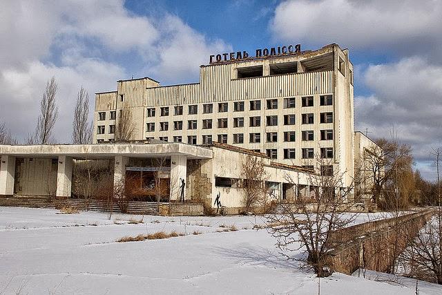Hotel in Pripyat, Chernobyl