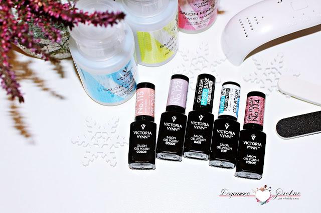 Nowości kosmetyczne grudnia 2016 | Haul Grudzień 2016 |  3 stopniowy system hybrid gel polish easy removal amerykańskiej marki Victoria Vynn