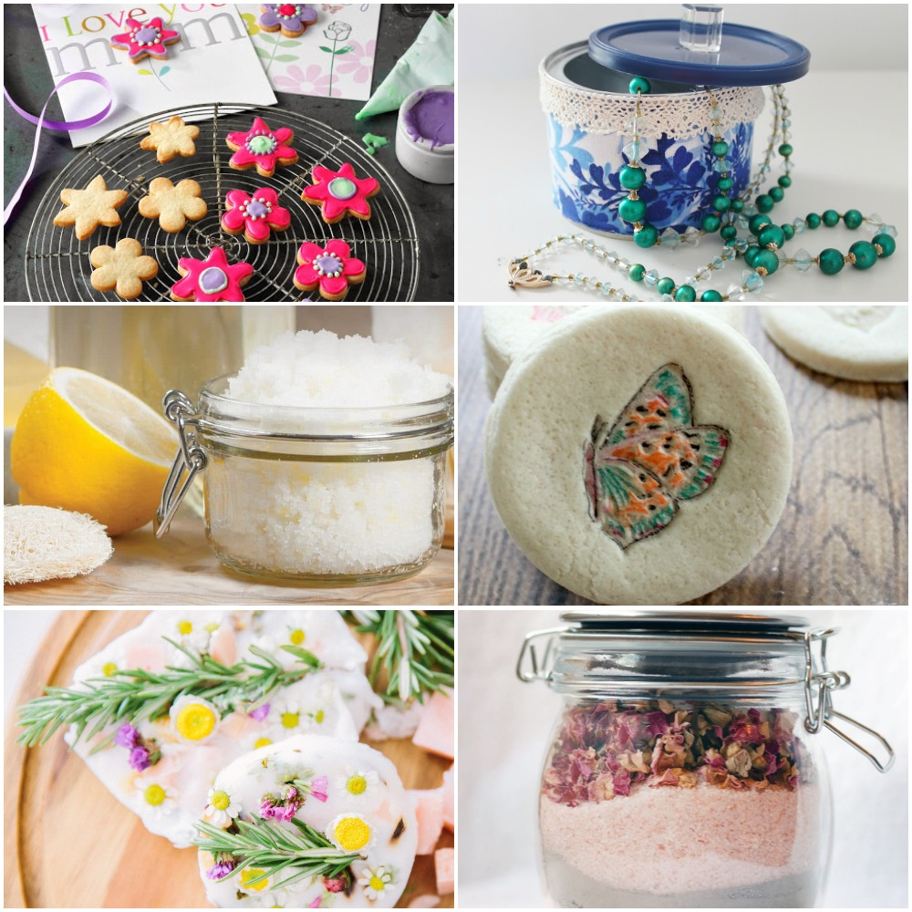 Mothers Day Gifts Diy: 21 Ideas For Homemade Mother's Day Gifts She Will Treasure