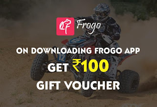 Frogo App Loot – Refer 5 Friends and Get Rs 100 Amazon.in Voucher (Amazon Gift Cards)