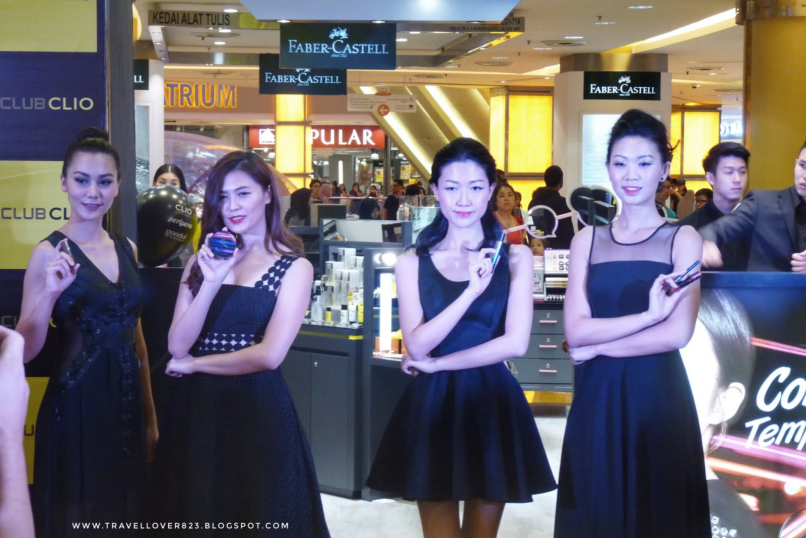 Club Clio Grand Opening @ Sunway Pyramid - I'm Shin May | The Travel