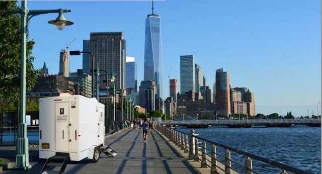 Restroom Trailers New York - The Soho