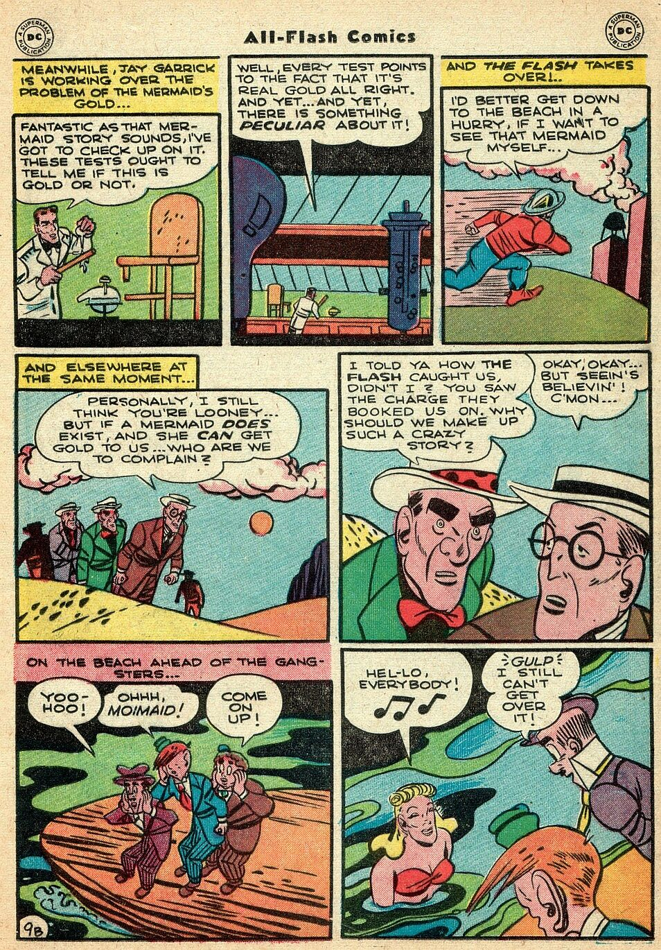 Read online All-Flash comic -  Issue #25 - 24