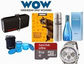 Flipkart Wednesday's WOW Sale:SanDisk SDHC 8 GB Class 10 Ultra for Rs.287 | Men's Footwear- Minimum 50% Off | Frangrances & Perfumes – Minimum 50% Off