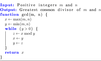 Pseudocode in LyX Revisited