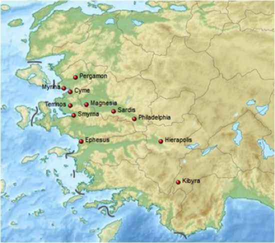 Lydia Earthquake AD 17