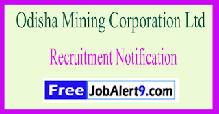 OMCL Odisha Mining Corporation Ltd Recruitment Notification 2017 Last Date 06-06-2017