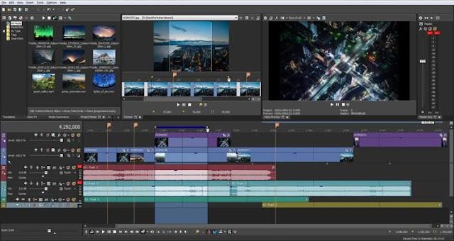 MAGIX VEGAS Pro 15.0.0.387 2018 Full Version