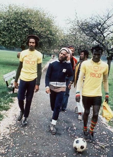 O futebol de Bob Marley