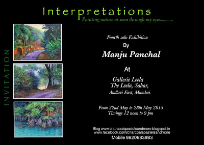 Fourth solo art exhibition by Manju Panchal at Gallerie Leela, Mumbai