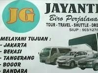 Jadwal Travel Jayanti Group Banjar - Jakarta