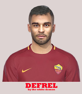 PES 2019 Faces Grégoire Defrel by The White Demon