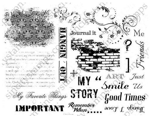 http://sincitystamps.com/art-journaling-2-rubber-stamp-set/