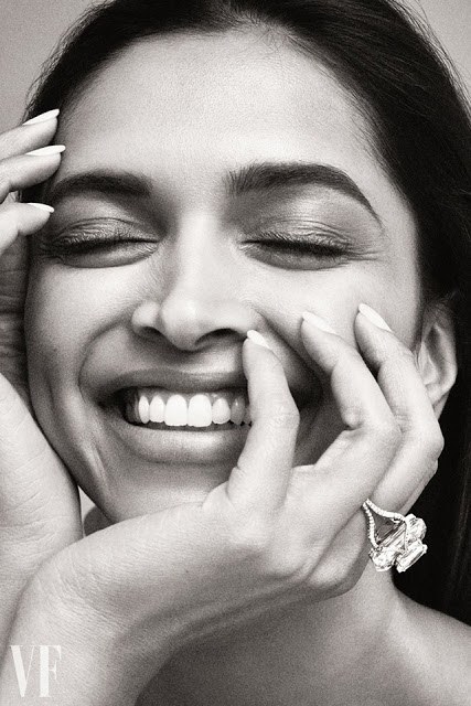 Deepika Padukone Photoshoot 'Vanity Fair' UK August 2017 issue