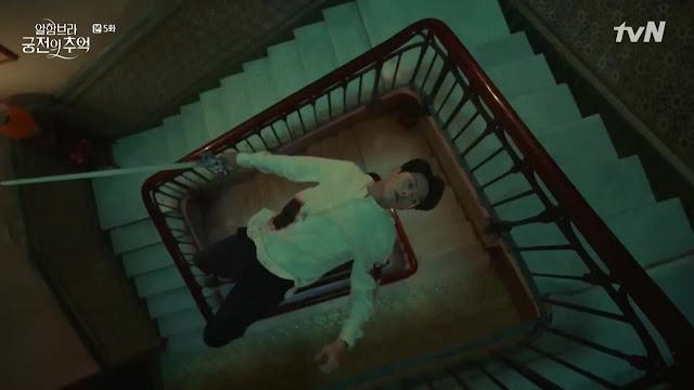 Sinopsis FULL K-Drama Memories of the Alhambra Episode 5