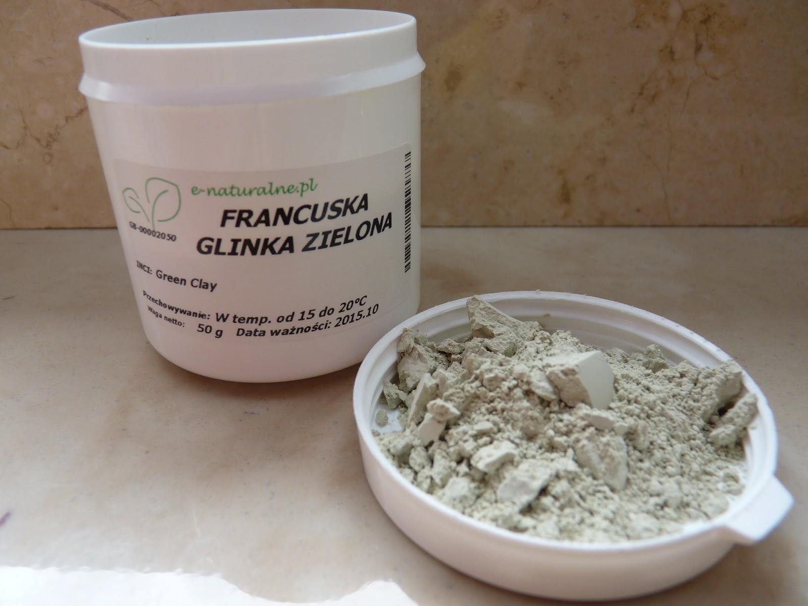 DIY – maseczka z francuskiej glinki zielonej