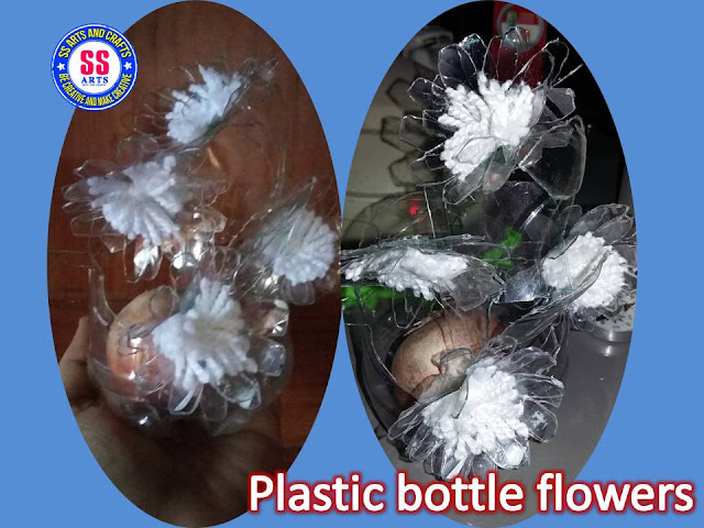Here is plastic bottle show piece,plastic bottle table center piece,plastic bottle hangings,plastic bottle lamp,plastic bottle shelves,plastic bottle wall hanging