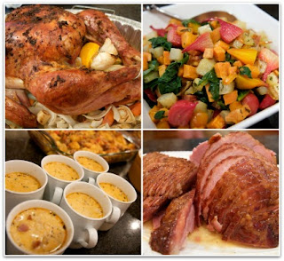 Delicious dishes for Thanksgiving Day