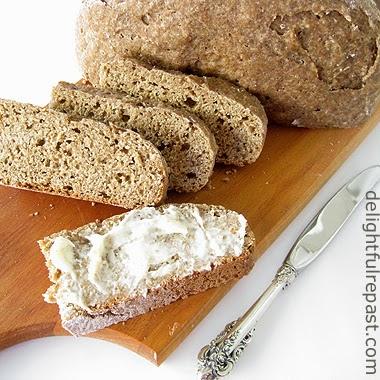 Irish Soda Bread - Irish Brown Bread / www.delightfulrepast.com