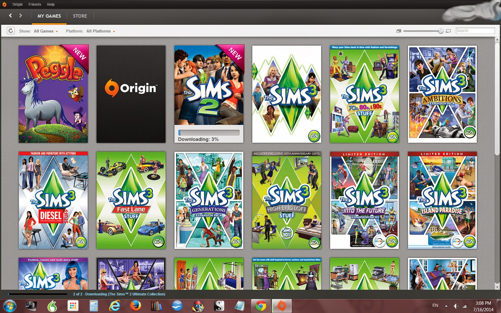 Store Banne Ultima Games 43books 43manga 43anime 43fun The Sims 2 Ultimate Collection