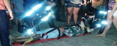 Acidente é registrado na noite desta quinta-feira (10) em Cuité