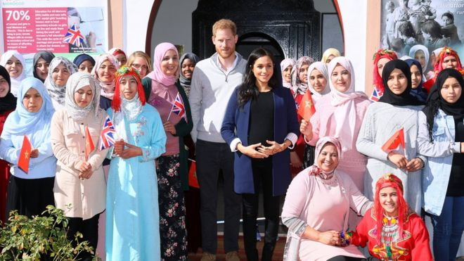 Duke and Duchess of Sussex support Morocco girls' school