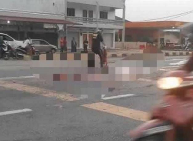 Mayat Wanita Kurang Siuman Dilayan Seperti Bangkai Binatang di Jalanan