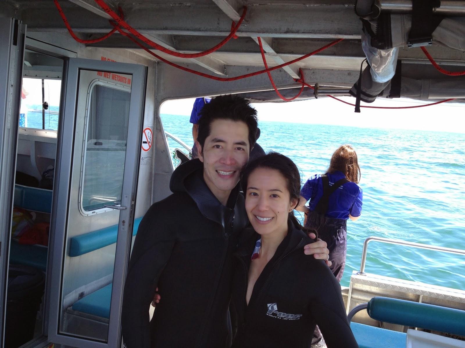 Kleinbaai - We survived cage diving