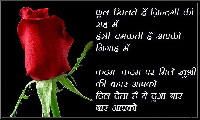 Happy Rose Day Shayari Wishes Quotes Messages in HIndi