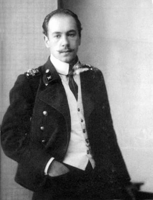 Игорь Сикорский во времена учебы в Киевском политехническом институте