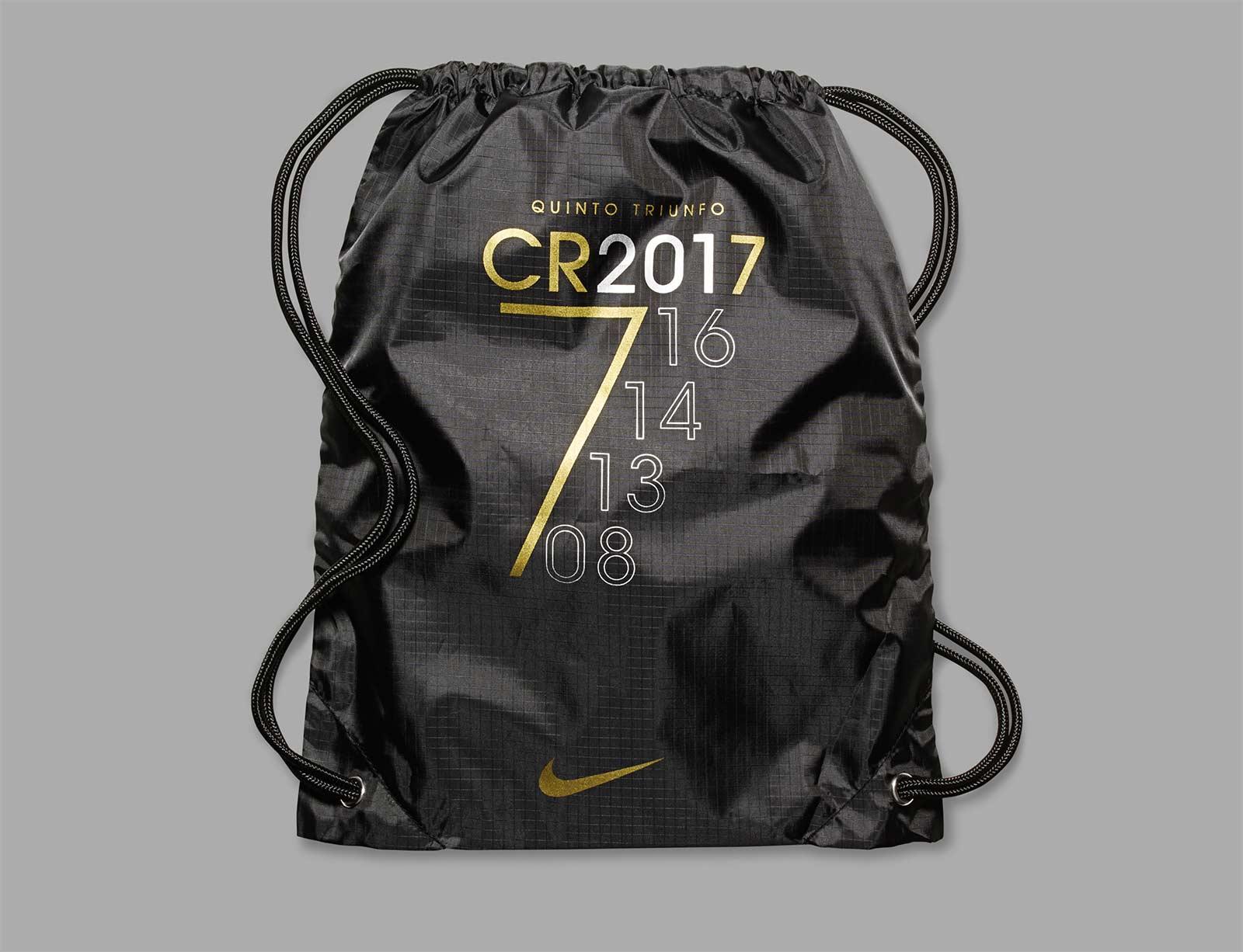 Botas CR7 Balón de Oro