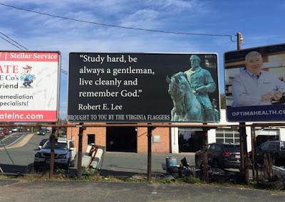 New Billboard in Charlottesville, Va Honors Robert E Lee