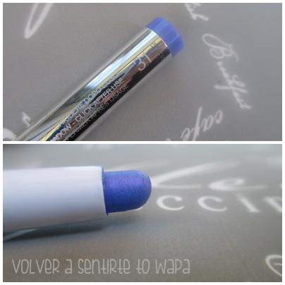 LONG LASTING de KIKO {Review & Swatches} - 31 Hypnotic Iris Blue