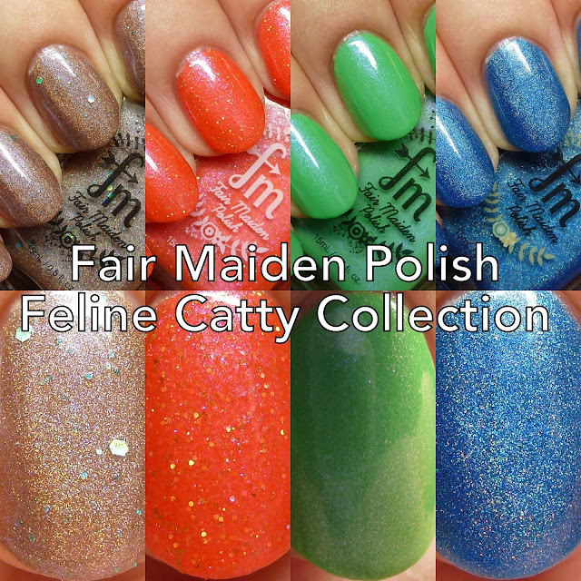 Fair Maiden Polish Feline Catty Collection