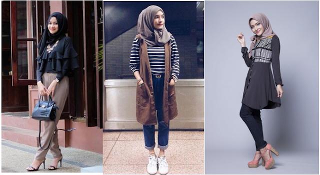 Model Baju Muslim Simpel