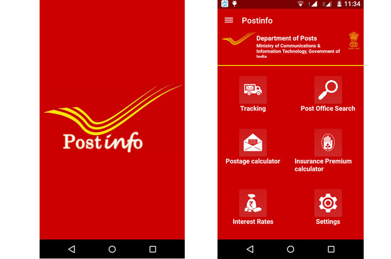 With   Lakh Post Offices The Department Of Posts Has The Most Widely Distributed Postal Network In The World India Post Had Launched A Postinfo Mobile