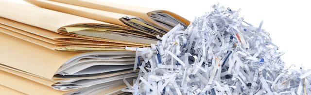 Trucos y consejos para una correcta destrucción de documentos