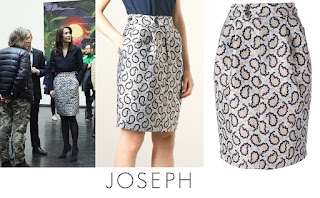 Princess Mary in JOSEPH Dean Skirt