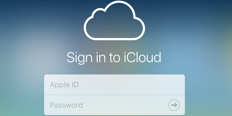 Sign in to iCloud from iPhone