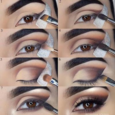 Maquillaje de OJOS casual