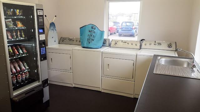Photo of wash day at Maryport Marina laundry