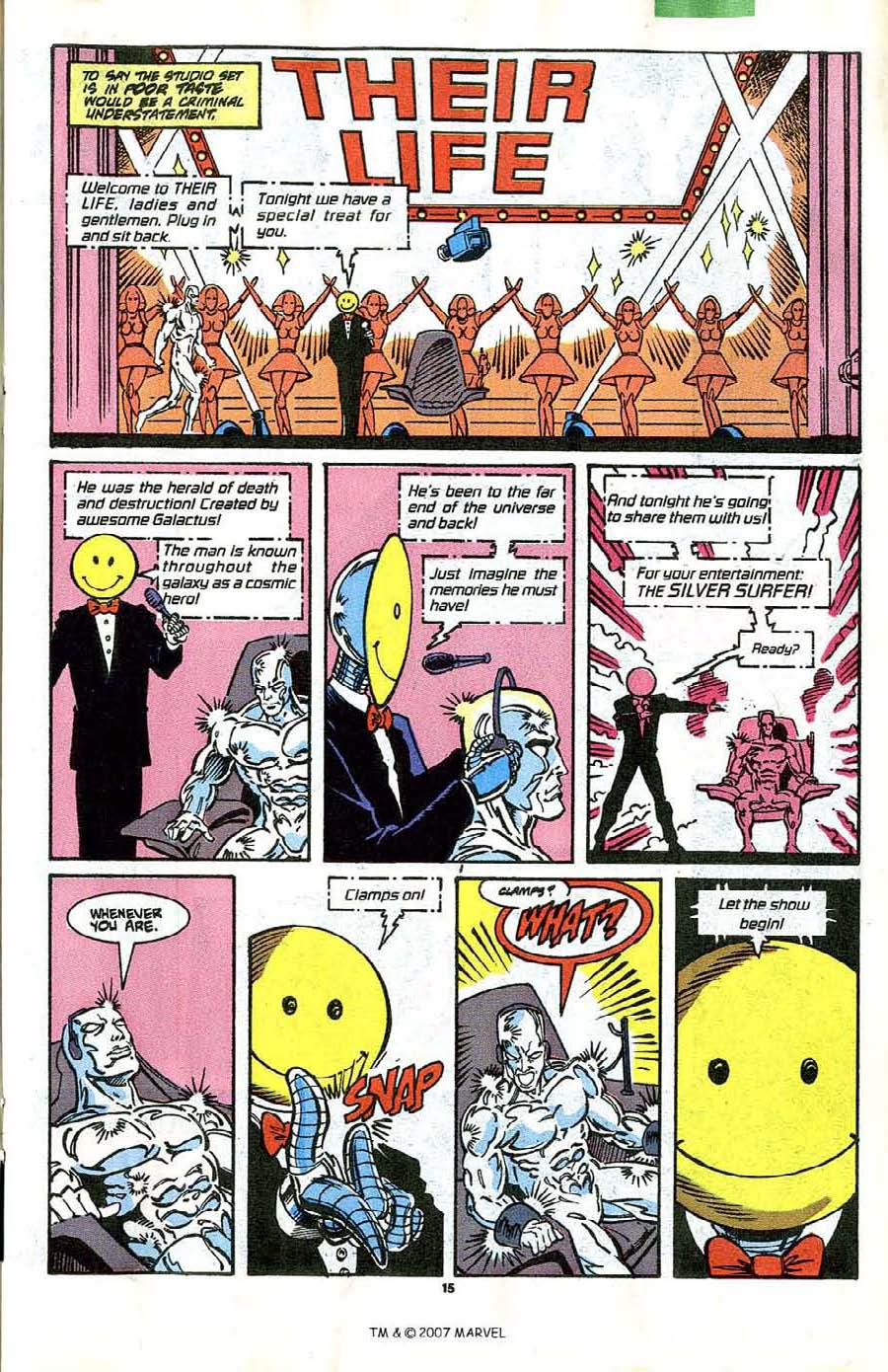 Read online Silver Surfer (1987) comic -  Issue #41 - 17