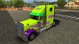 Z-Stripe Mask paint for Freightliner Classic XL