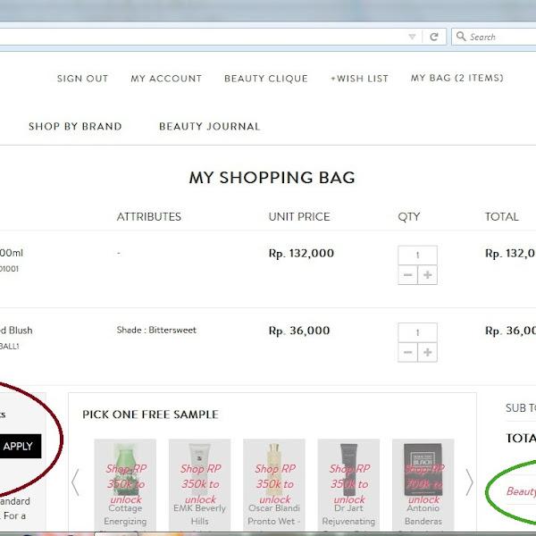(Sponsored) Belanja di Sociolla Menggunakan Beauty Point | www.sociolla.com
