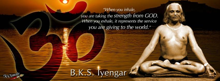 BKS Iyengar Yoga Quotes FB Covers