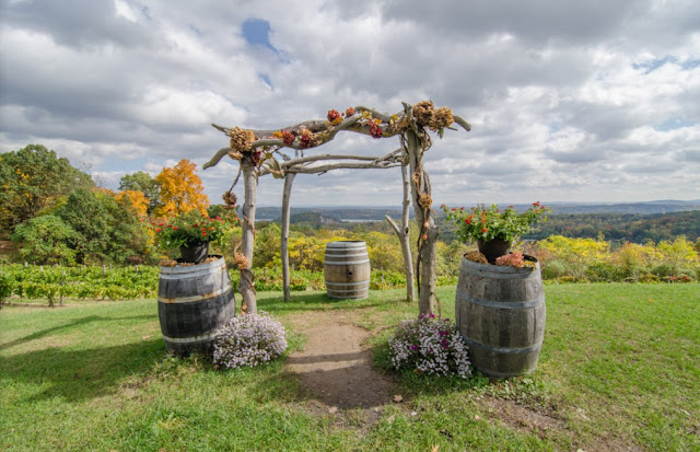 Wedding Venues On The Hudson Benmarl Winery wedding