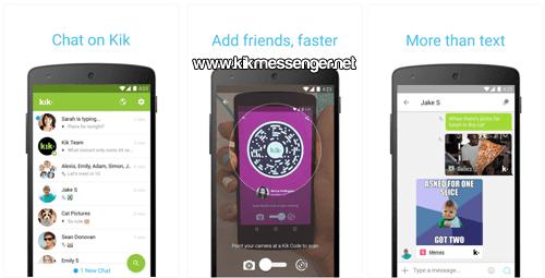 Kik Messenger para Android gratis