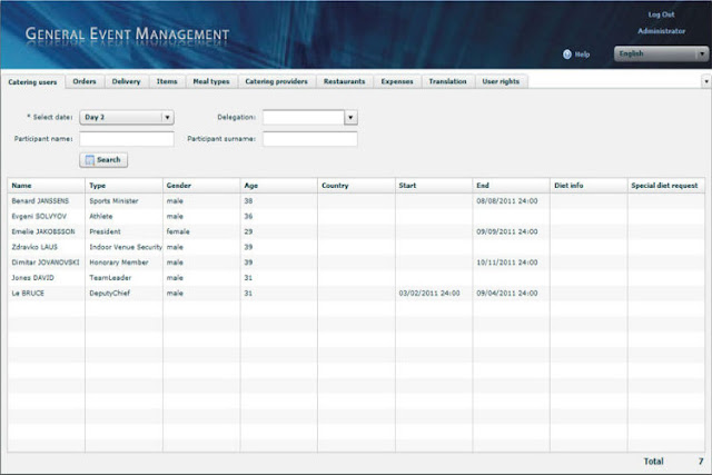 catering management software