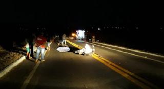 Acidente deixa um homem morto e outro gravemente ferido em Cuité, na PB