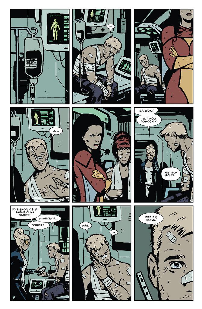 Hawkeye tom 4 strona przykładowa